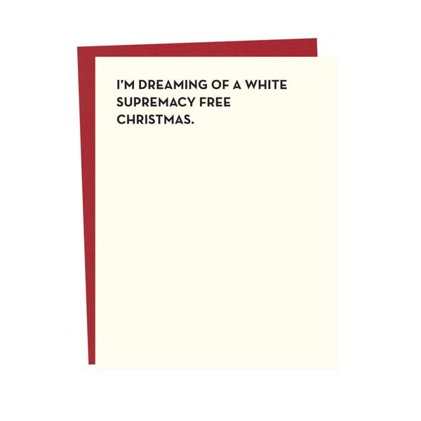 White Christmas Holiday Card Sapling Press Holiday - Cards