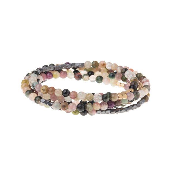 Stone Wrap Bracelet - Tourmaline Scout Curated Wears Jewelry