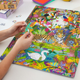 Jungle Tiger 500 Piece Jigsaw Puzzle Seltzer Puzzles & Games