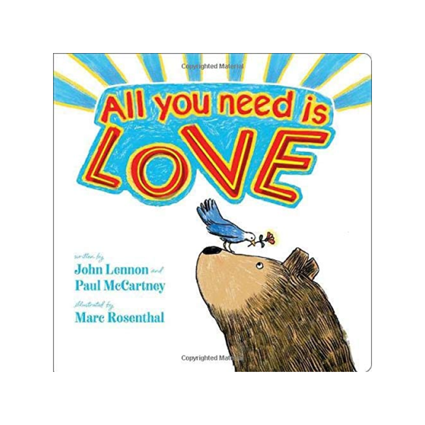 All You Need Is Love Board Book Simon and Schuster Books - Children