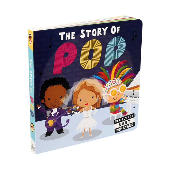 The Story of Pop Board Book Simon and Schuster Books - Children