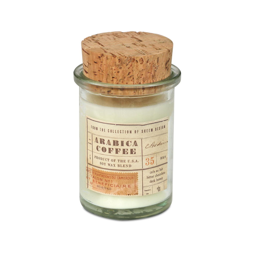 Default Field Jar Candle - Arabica Coffee Skeem Design Candles