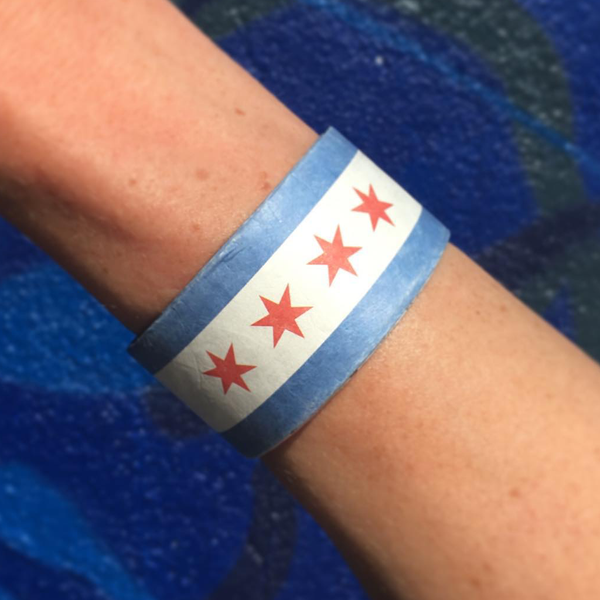 Slapmap Chicago Map Slap Bracelet Slapmap Maps