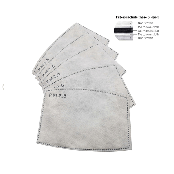 Mask Replacement Filters Snoozies Apparel & Accessories - Masks & Face Coverings