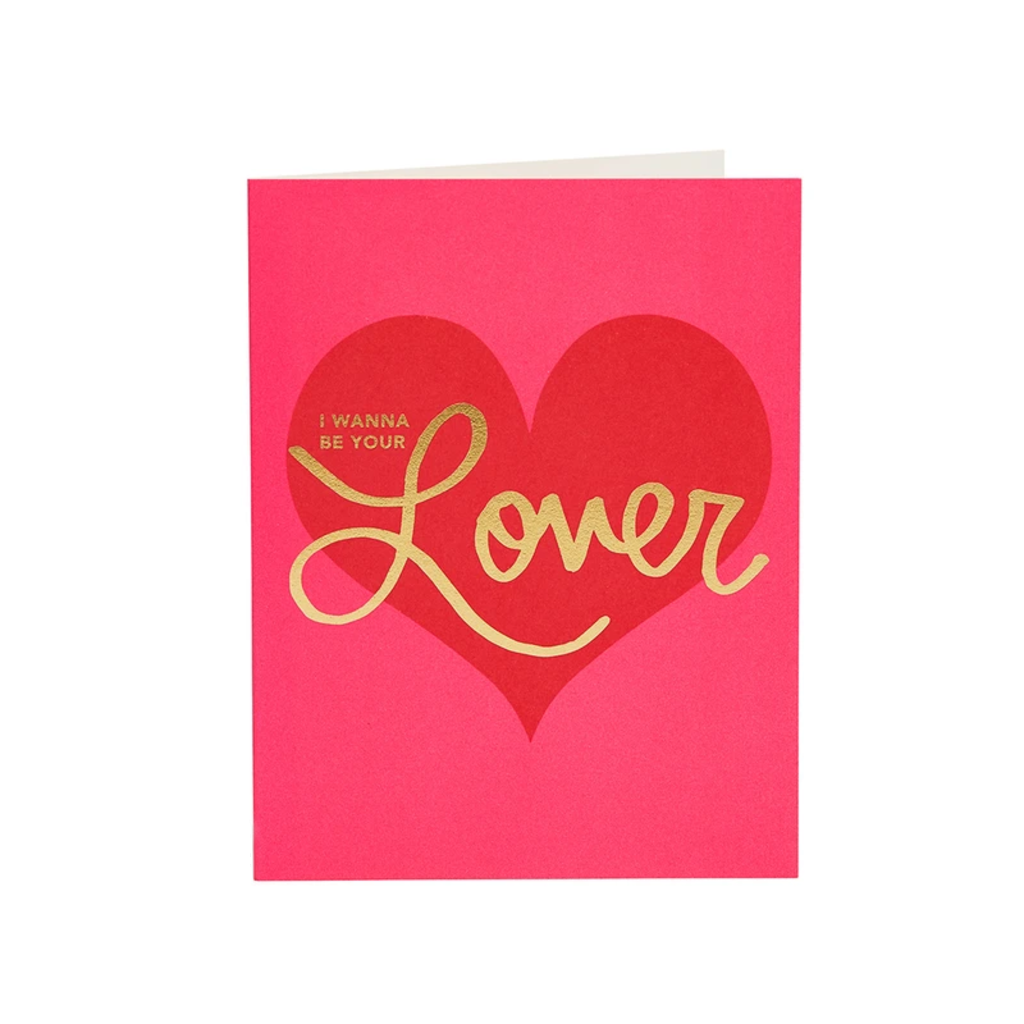 SNG LETTERPRESS CARD VALENTINE LOVER Snow & Graham Cards - Valentine's Day
