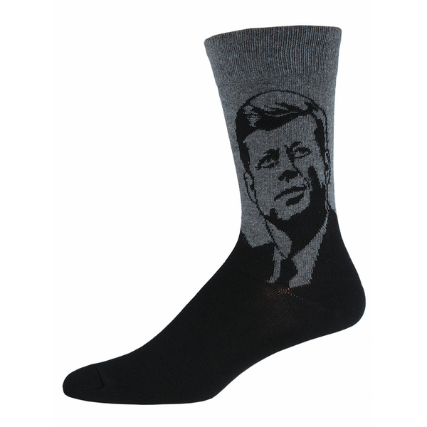 JFK John F. Kennedy Crew Socks - Mens Socksmith Socks - Men's