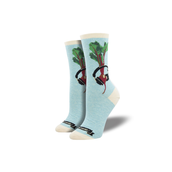 We Got The Beet Crew Socks - Womens Socksmith Socks - Womens