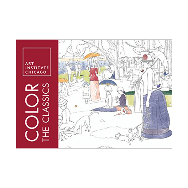 Sourcebooks Adult Coloring Books Color the Classics: The Art Institute of Chicago Adult Coloring Book
