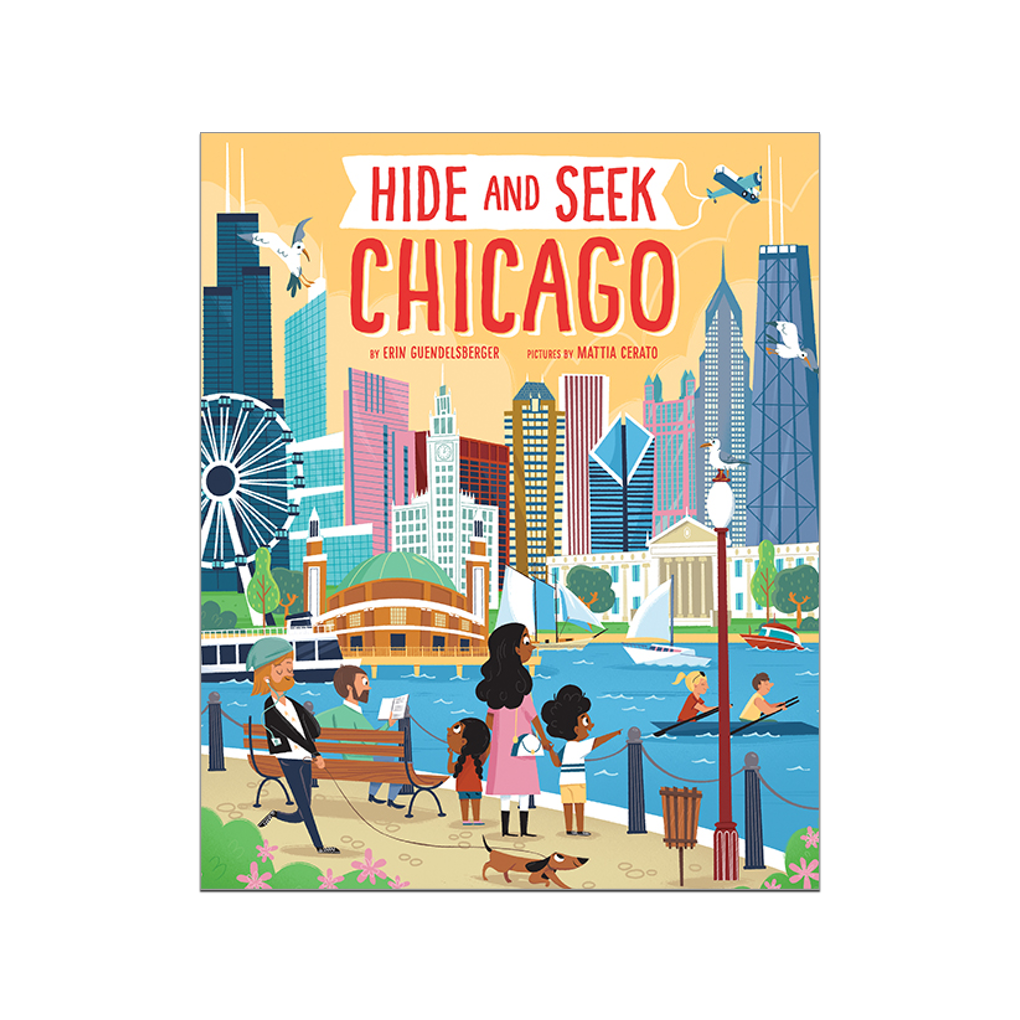 Hide and Seek Chicago Book Sourcebooks Children's Books