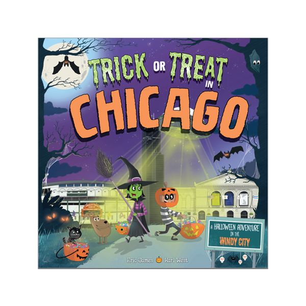 Default SOU BOOK TRICK OR TREAT CHICAGO Sourcebooks Halloween - Book