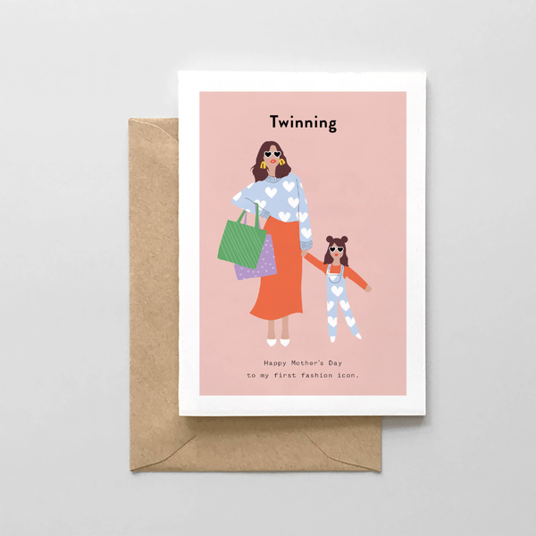 Twinning Mother's Day Card Spaghetti & Meatballs Cards - Mother's Day