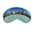 CHICAGO BEAN Chicago Stickers from Sprouted Scribbles SproutedScribbles Stickers