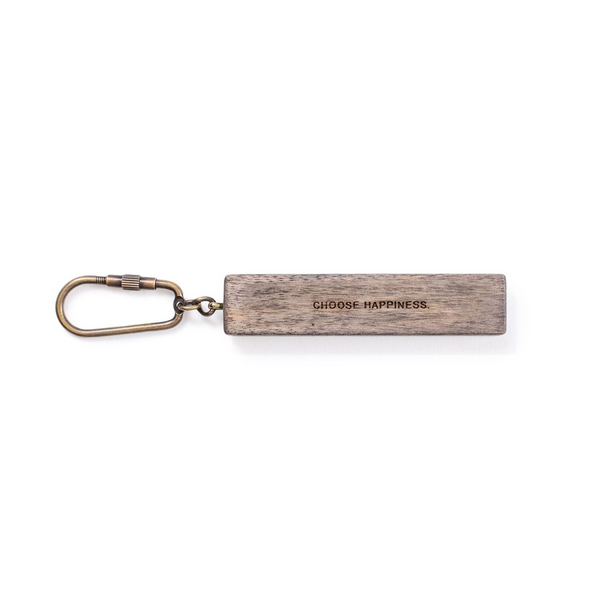 Choose Happiness Wood Keychain SUGARBOO DESIGNS Keychains