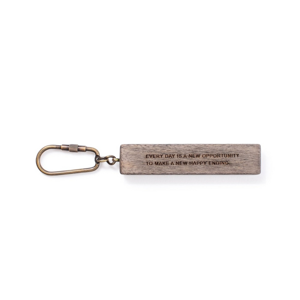 New Opportunity Wood Keychain SUGARBOO DESIGNS Keychains