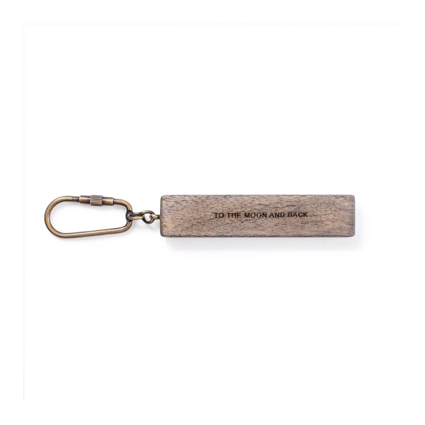 To The Moon And Back Wood Keychain SUGARBOO DESIGNS Keychains