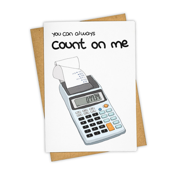 TAY CARD BLANK CALCULATOR TAY HAM Card - Blank