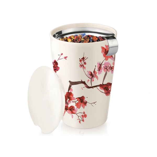 Kati Tea Brewing System & Cup by Tea Forte - Cherry Blossom Tea Forte Home - Mugs & Glasses