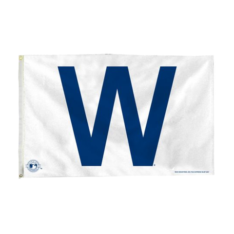 Chicago Cubs W Flag - 3 x 5 Banner Flag