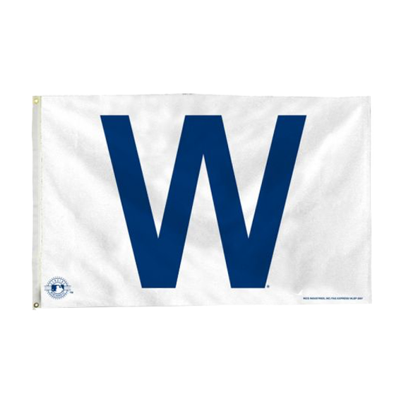 The Extra Mile Home & Office,Browse All Chicago Cubs W Flag - 3 x 5 Flag