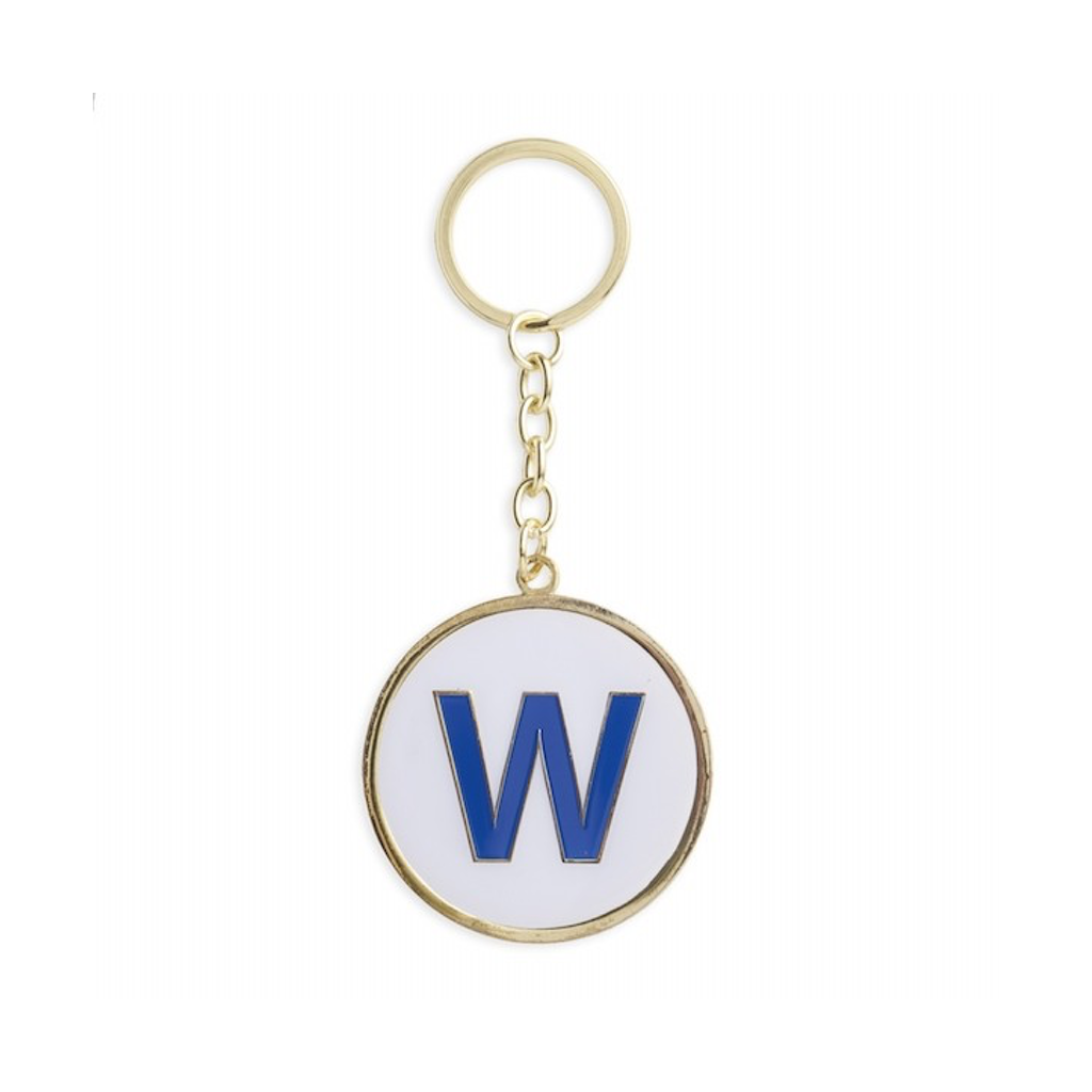 Chicago Cubs W Keychain The Found Apparel & Accessories - Keychains