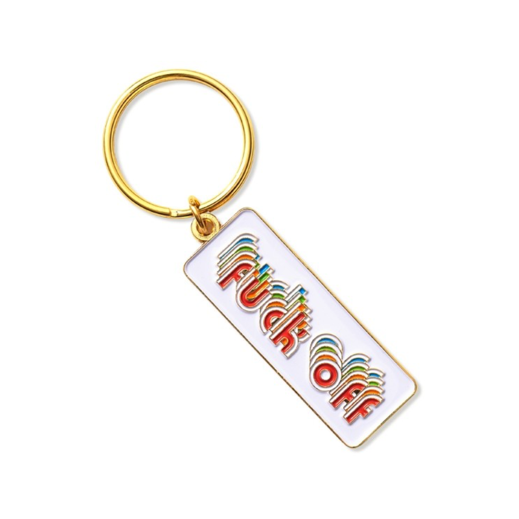 F*ck Off Keychain The Found Apparel & Accessories - Keychains