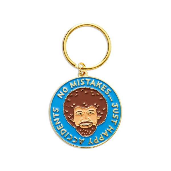 Happy Accidents Keychain - BLUE The Found Apparel & Accessories - Keychains