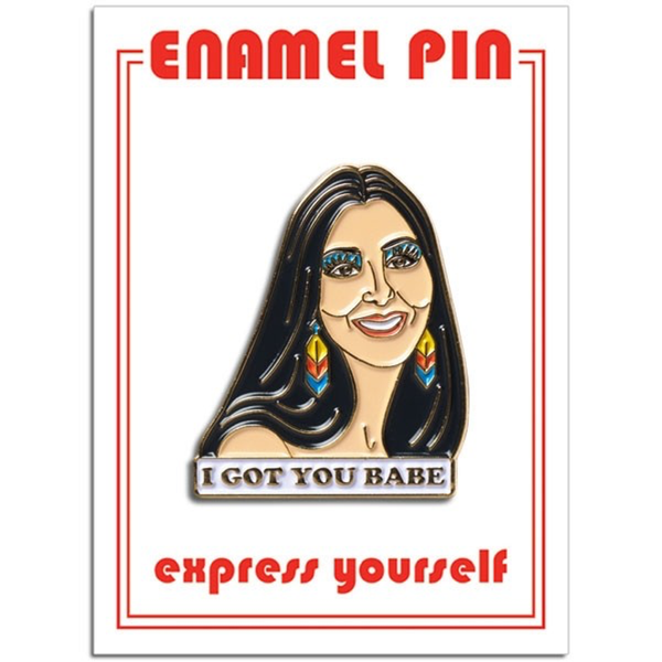 Cher Enamel Pin The Found Buttons & Pins
