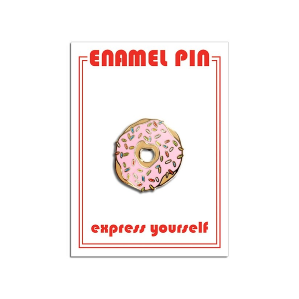 Donut Pin The Found Buttons & Pins