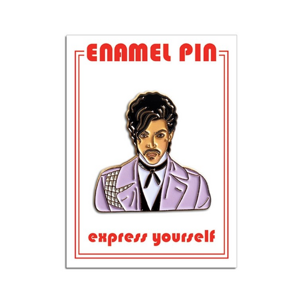 Prince Jacket Enamel Pin The Found Buttons & Pins