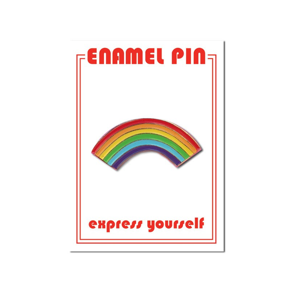 Rainbow Pin The Found Buttons & Pins