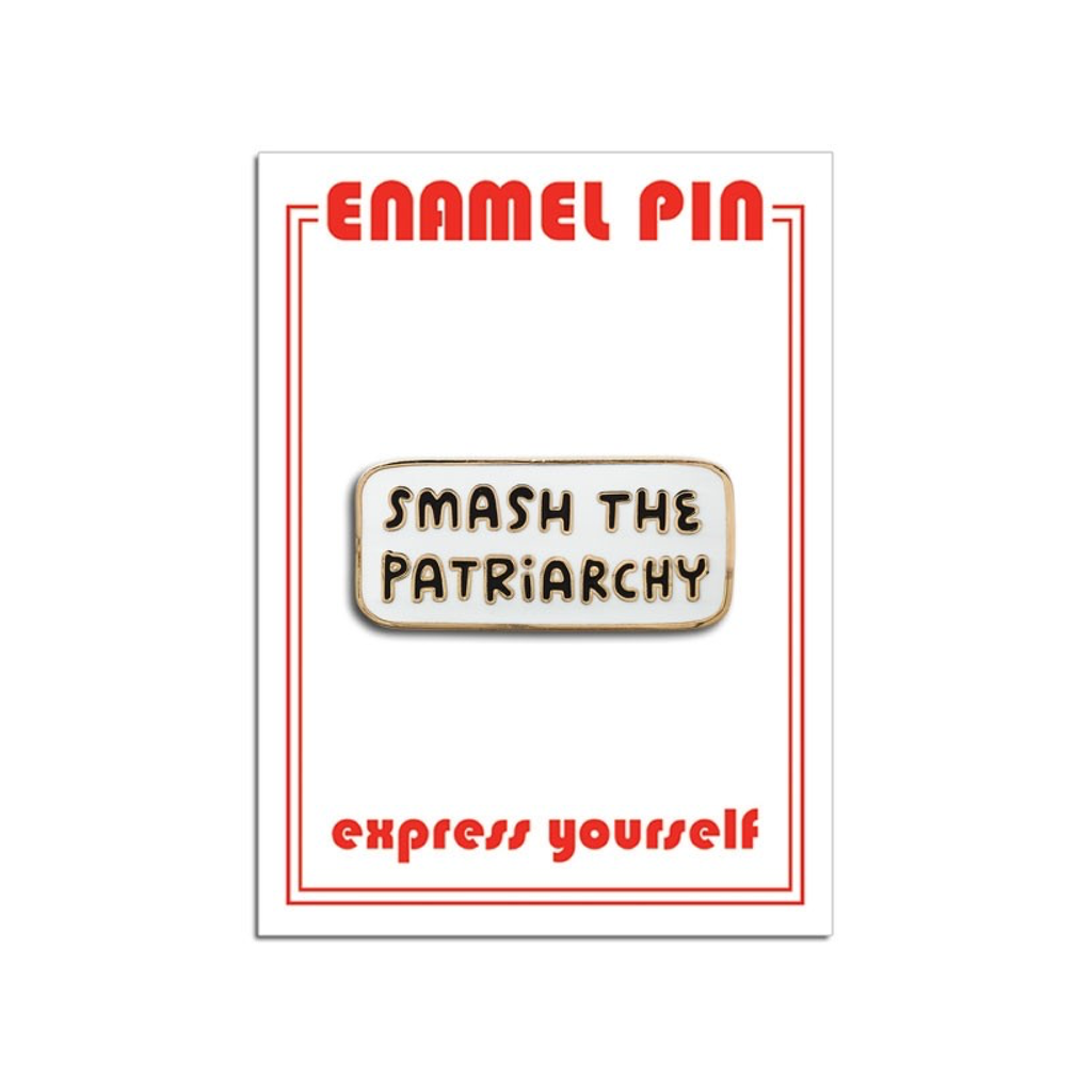 Smash The Patriarchy Pin The Found Buttons & Pins