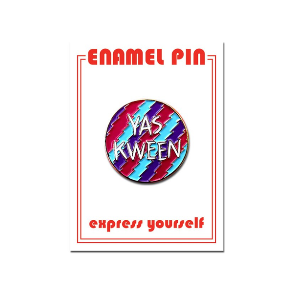 Yas Kween Enamel Pin The Found Buttons & Pins