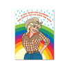 If You Want The Rainbow...Dolly Parton Card The Found Cards - Blank