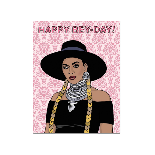 Happy Bey-Day! Birthday Card The Found Greeting Cards