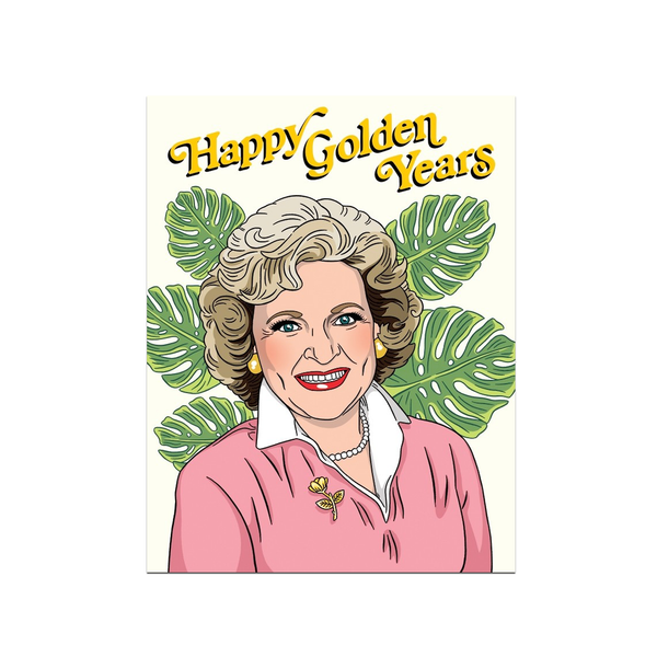Happy Golden Years Card from The Found The Found Greeting Cards