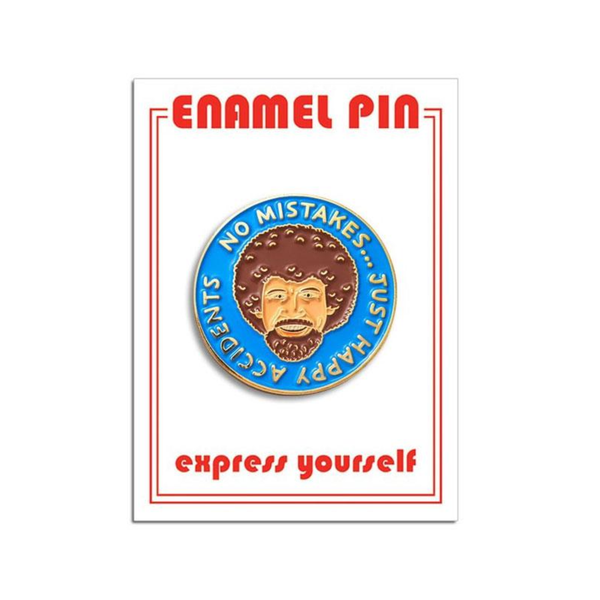 FOU ENAMEL PIN PAINTER GUY BLUE The Found Jewelry - Pins