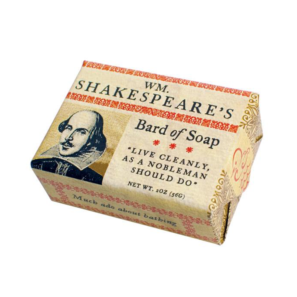 Default Title William Shakespeare's Bard of Soap The Unemployed Philosophers Guild Bar Soap