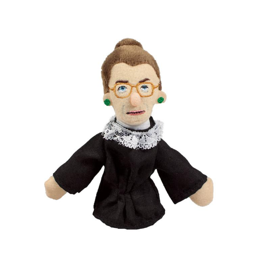 Ruth Bader Ginsburg Finger Puppet Magnet The Unemployed Philosophers Guild Dolls, Playsets & Toy Figures