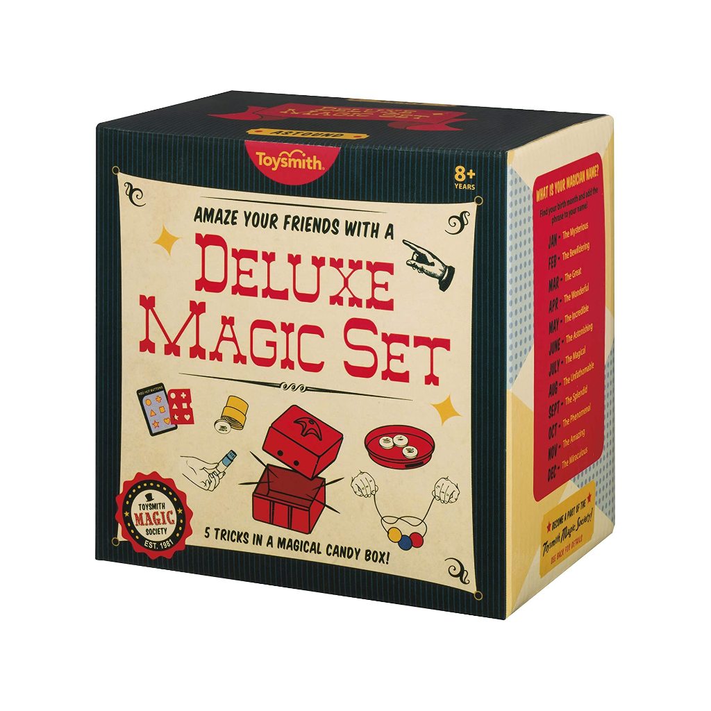 Deluxe Magic Set Toysmith Toys & Games