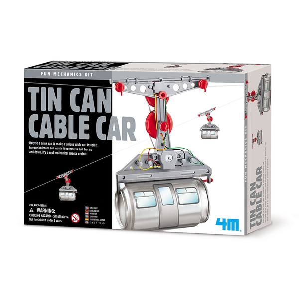 Tin Can Cable Car Kit Toysmith Toys & Games
