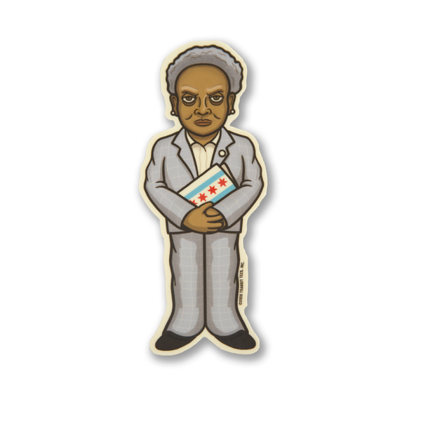 Lori Lurking Lightfoot Sticker Transit Tees Impulse - Stickers