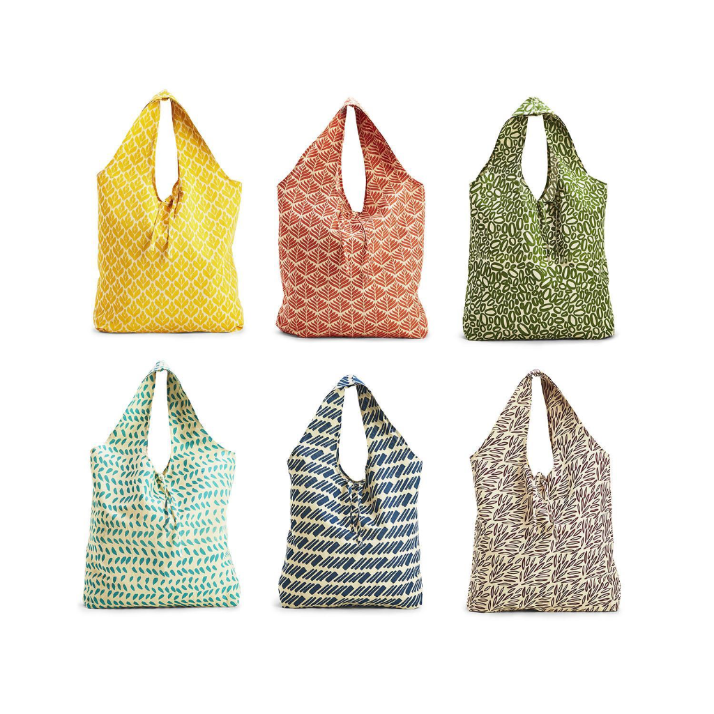 To Market We Go Reusable Shopping Bags Two's Company Apparel & Accessories - Reusable Shoppers
