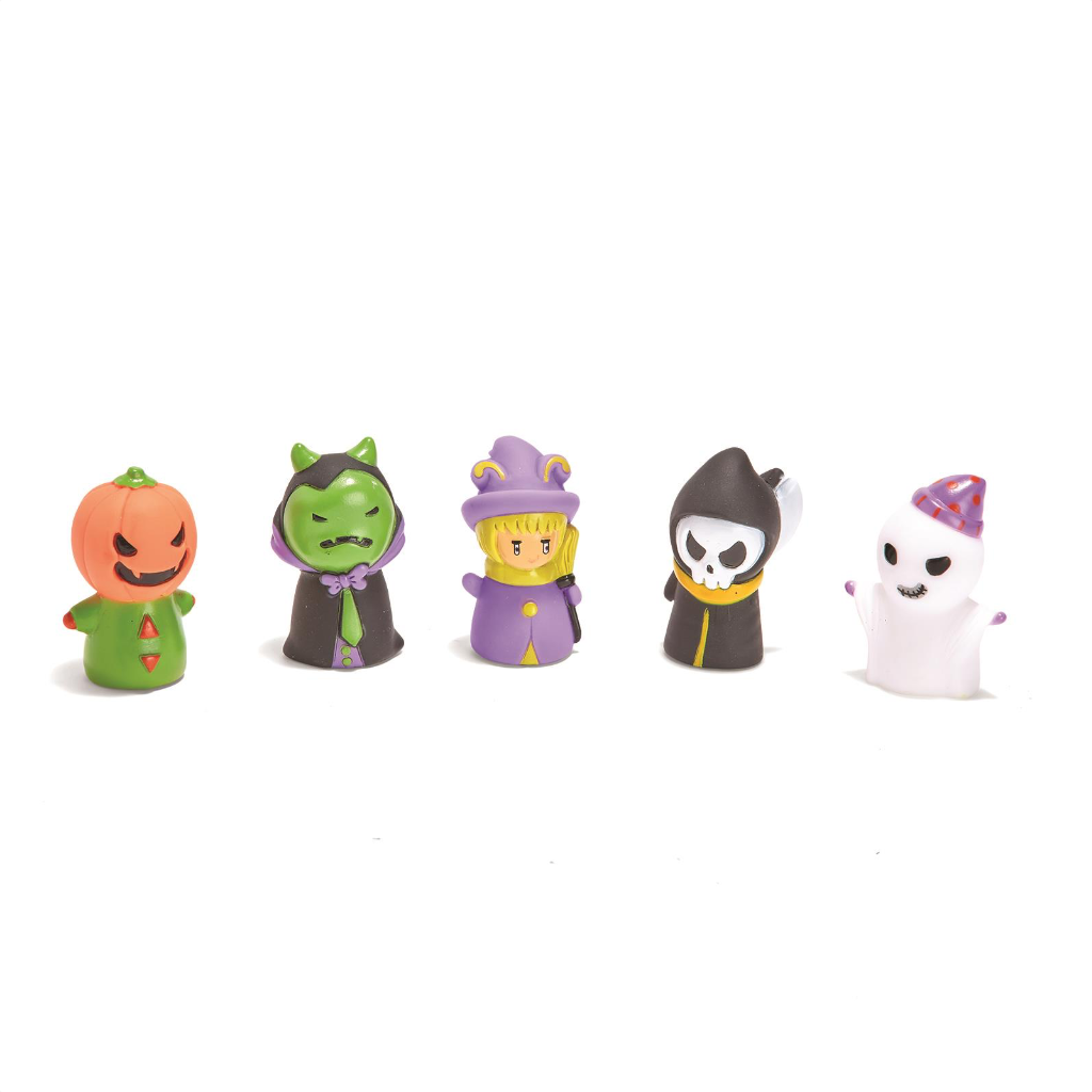 Creepy Crew Halloween Finger Puppets Two's Company Impulse - Toy - Finger Puppets