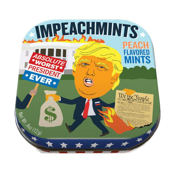 Trump Impeachmints Mints Unemployed Philosophers Guild Candy & Gum