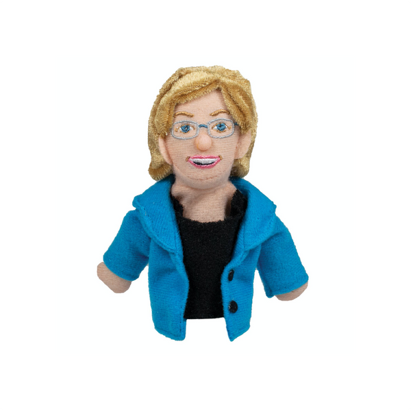 Elizabeth Warren Magnetic Personality Finger Puppet Unemployed Philosophers Guild Impulse