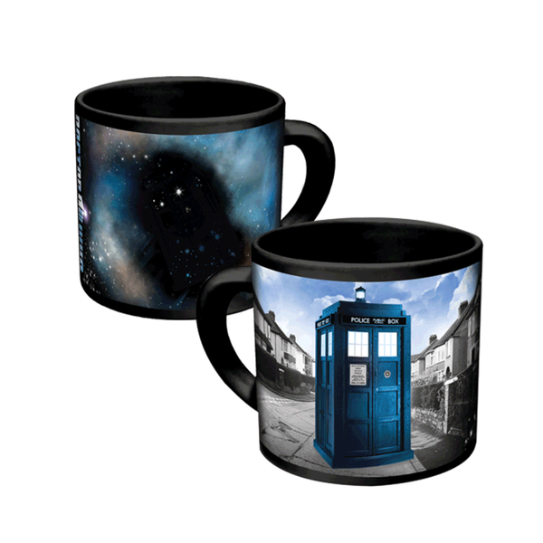 Doctor Who Disappearing TARDIS Mug Unemployed Philosophers Guild Mugs & Glasses
