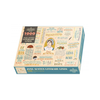 Jane Austen Literary Lines 1000 Piece Jigsaw Puzzle Unemployed Philosophers Guild Toys & Games - Puzzles