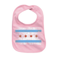 Urban General Store Bibs Chicago Flag Bib - Pink