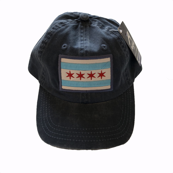 Chicago Flag Hat - Adult Urban General Store Goods Hats