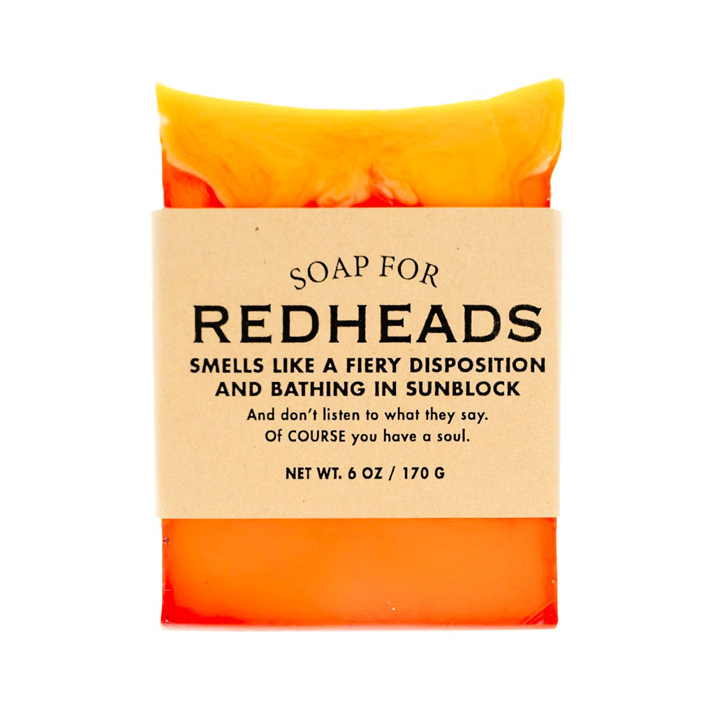 Soap for Redheads Whiskey River Soap Bar Soap